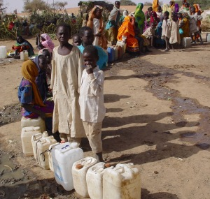 Waiting for water in Darfur